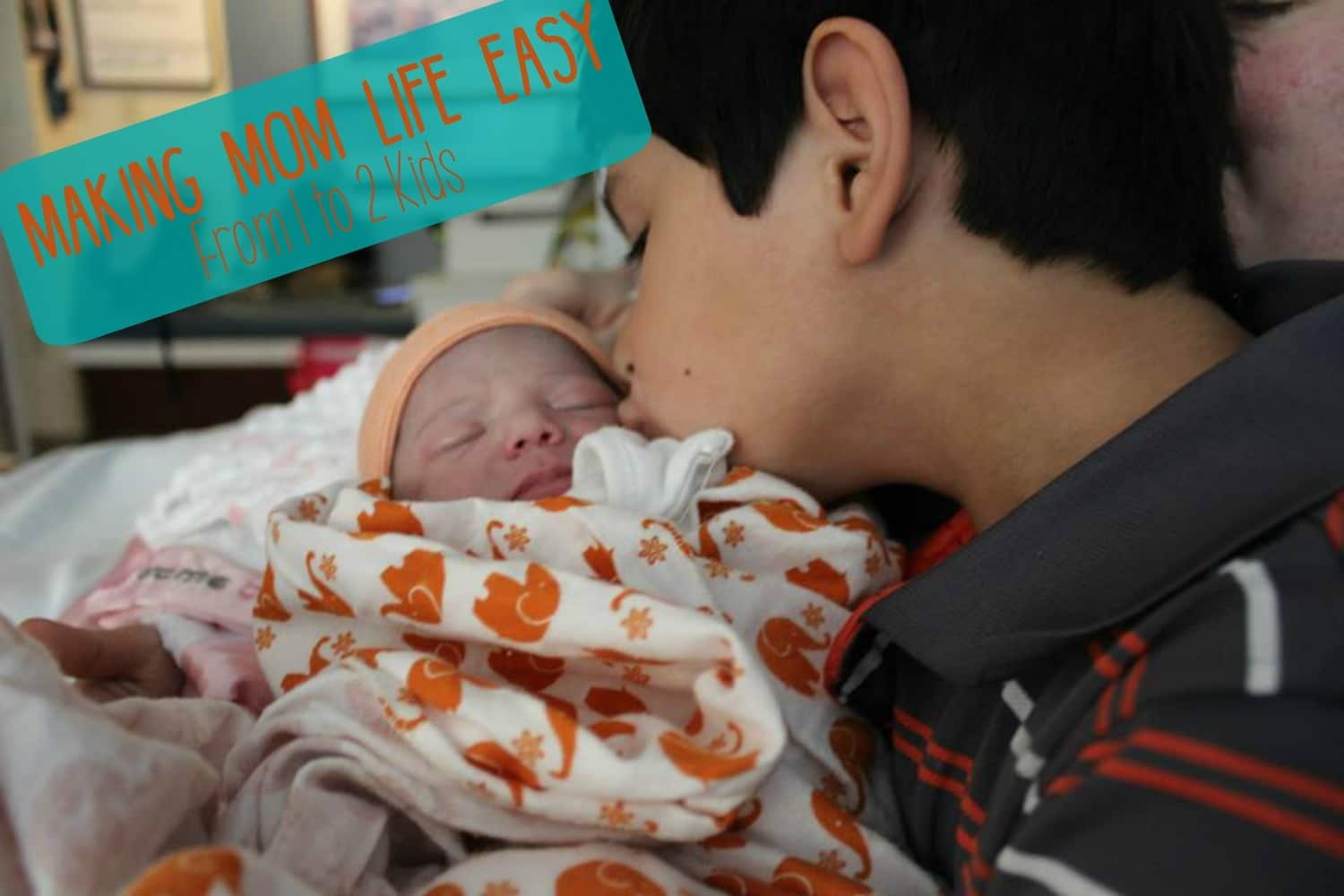 5 Tips: Making Mom Life Easier From 1 to 2 Kids