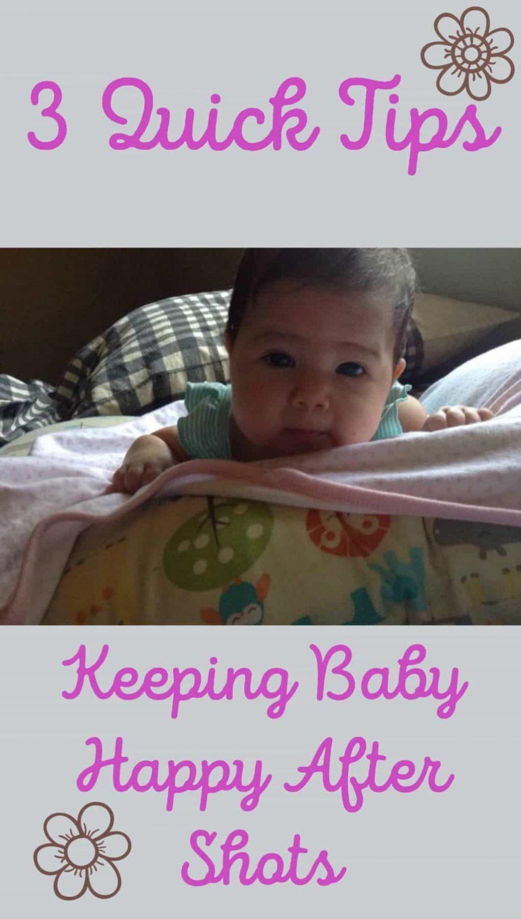 3 Quick Tips: Keeping Baby Happy After Shots
