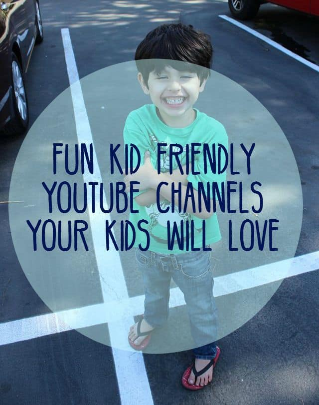 kid friendly youtube channels