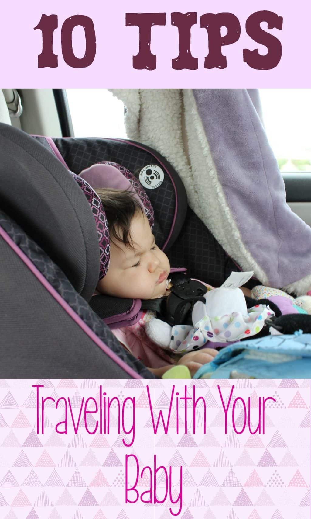 traveling with your baby