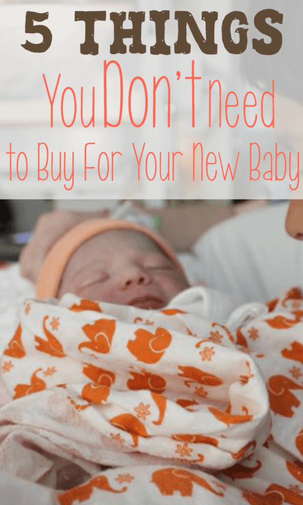 5 Things You Don T Need To Buy For Your New Baby