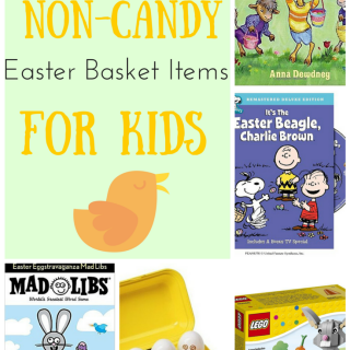Fun Non-Candy Easter Basket Items for Kids