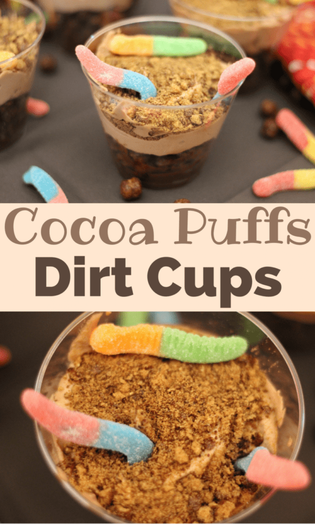 Cocoa Puffs Dirt Cups