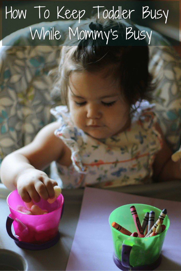 How To Keep Toddler Busy