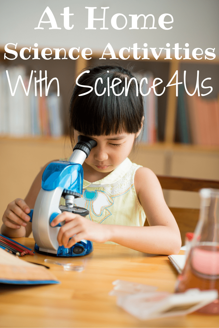 At Home Science Activities With Science4Us!