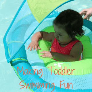Making Toddler Swimming Fun