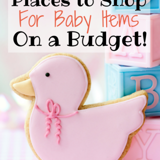 10 Places To Shop For Baby Items On A Budget