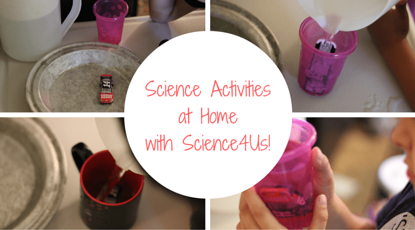 Science Activities at Home with Science4Us!
