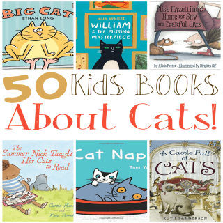 50 Toddler & Kids Cat Books