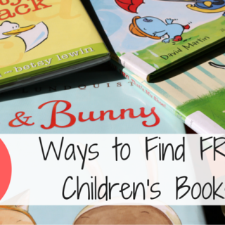 5 Ways to Get Free Children's Books