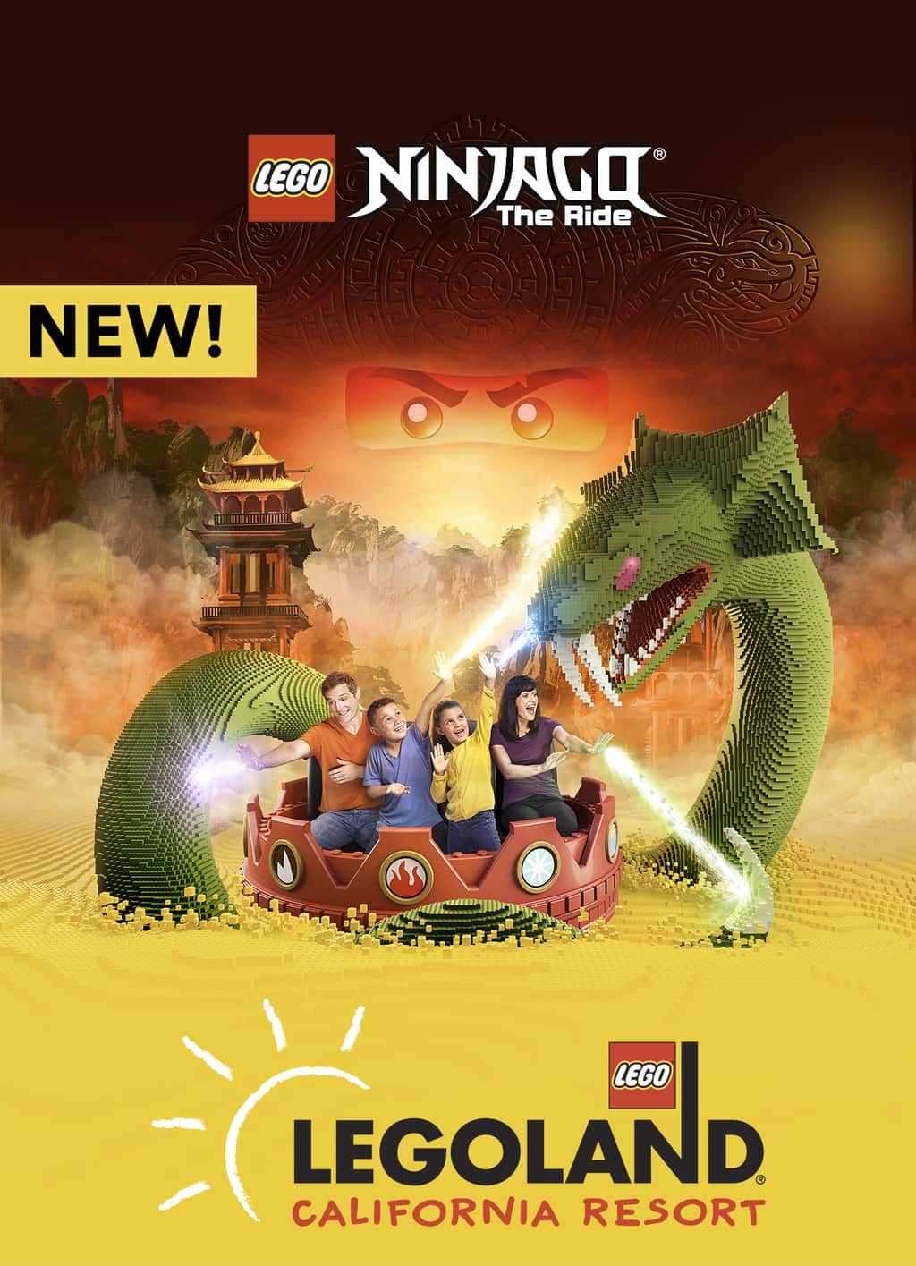 LEGO Ninjago The Ride