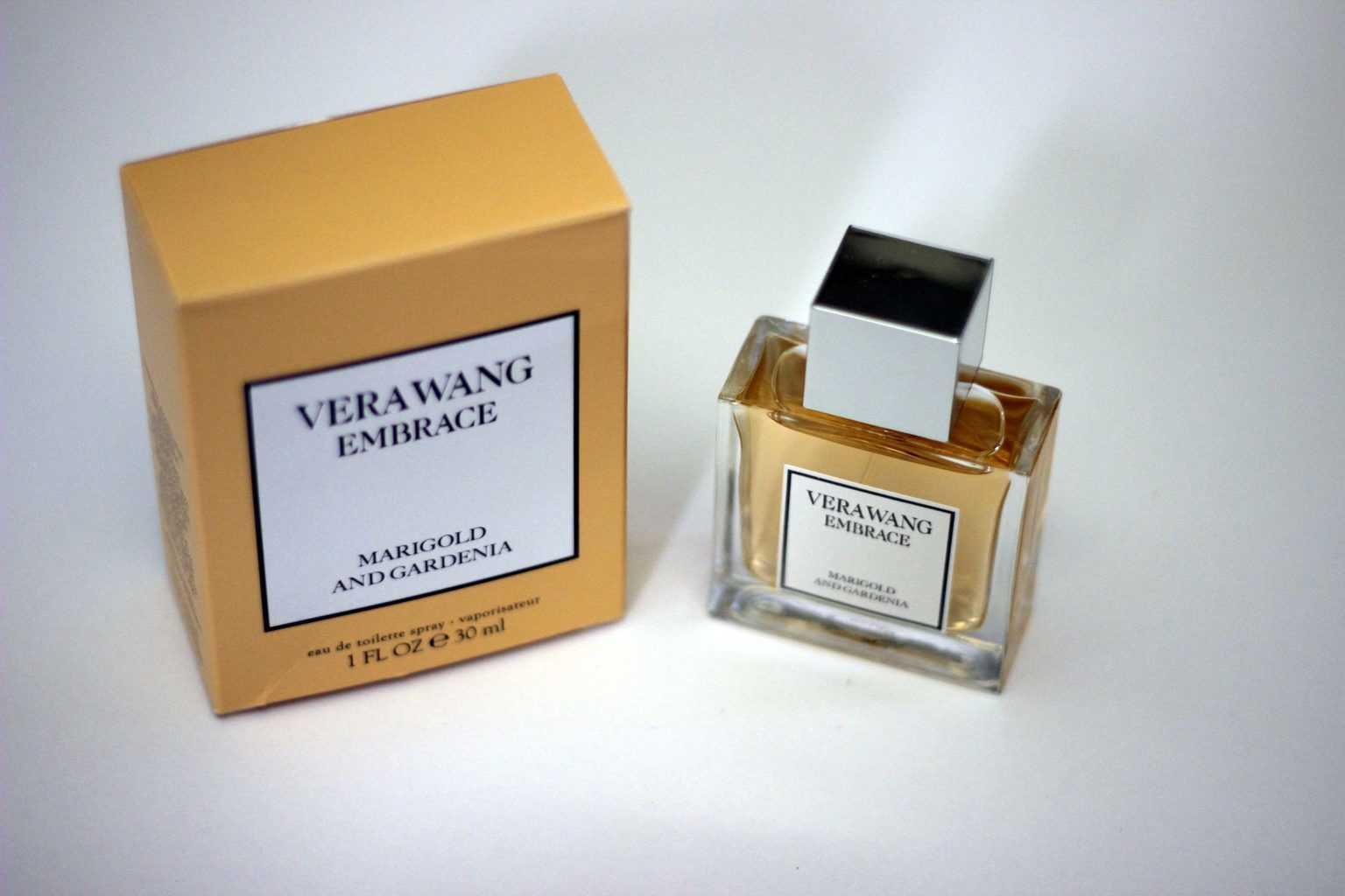 vera wang marigold and gardenia confidence