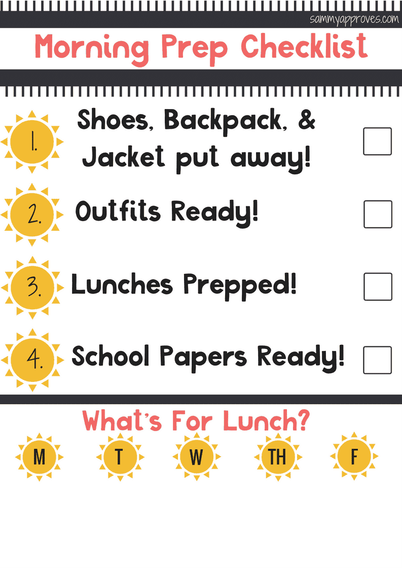 10 Tips to Make Your Morning School Routine Easier