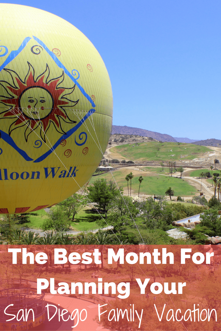 The Best Month to Plan a San Diego Family Trip
