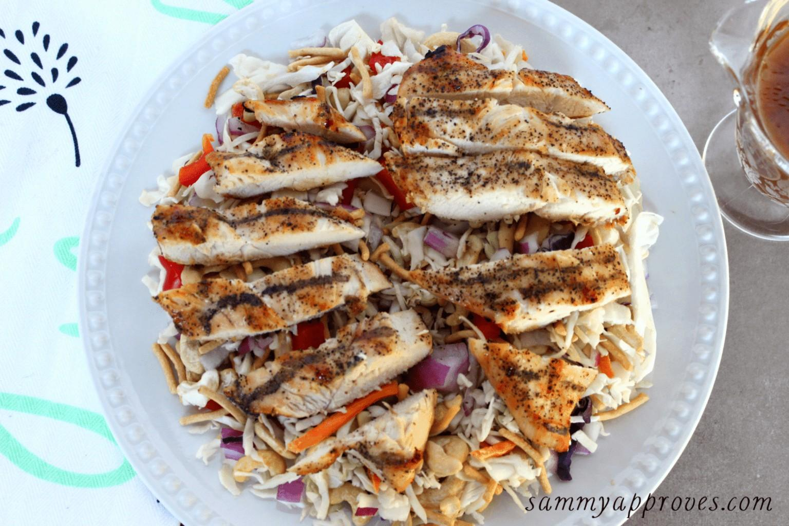 Grilled Asian Chicken Salad