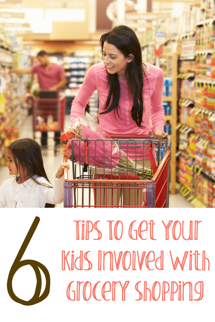 Kids Involved Grocery Shopping