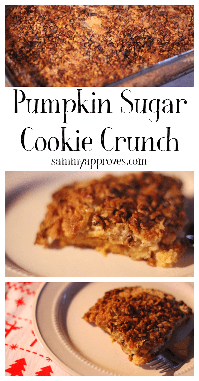 Pumpkin Sugar Cookie Crunch
