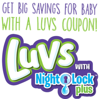 Get Big Savings for Baby with a February Luvs Coupon