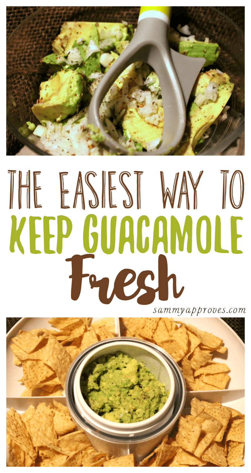 The Easiest Way to Keep Guacamole Fresh