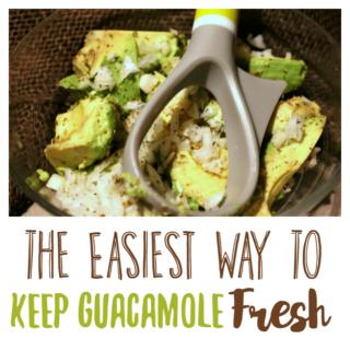 The Easiest Way to Keep Guacamole Fresh