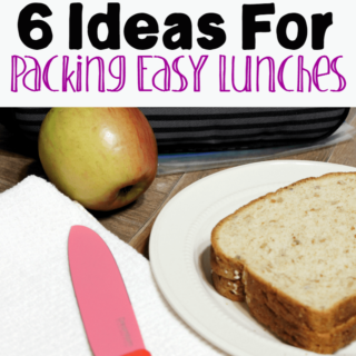 6 Ideas for Packing Easy Lunches