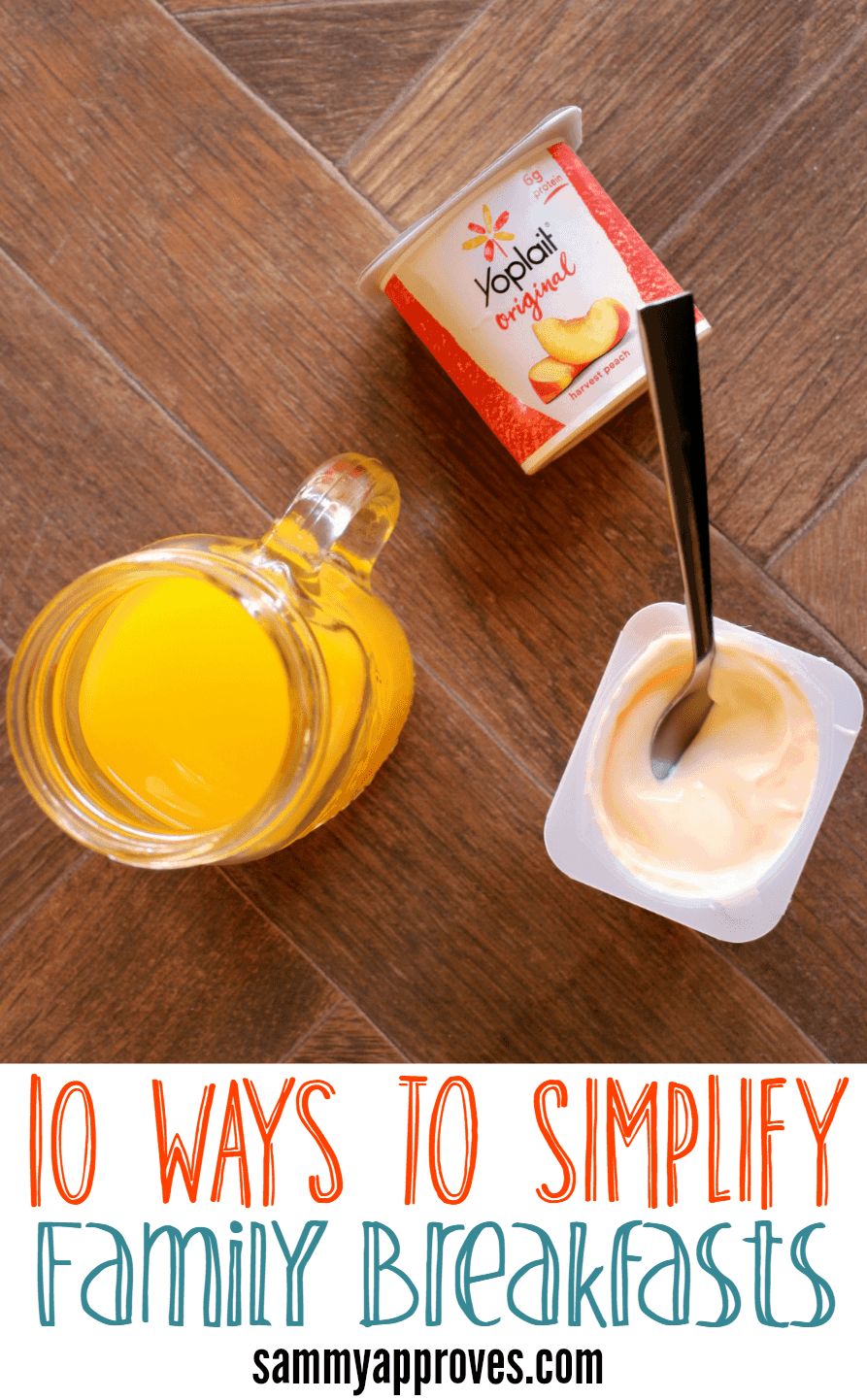Simplify Family Breakfasts