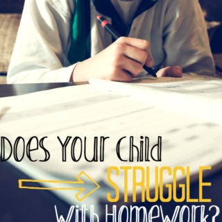 Does Your Child Struggle With Homework? >> 10 Questions to Ask Yourself