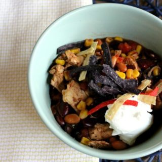 Pressure Cooker Chicken Taco Soup