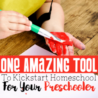 One Amazing Tool to Kick-Start Home School for Your Preschooler
