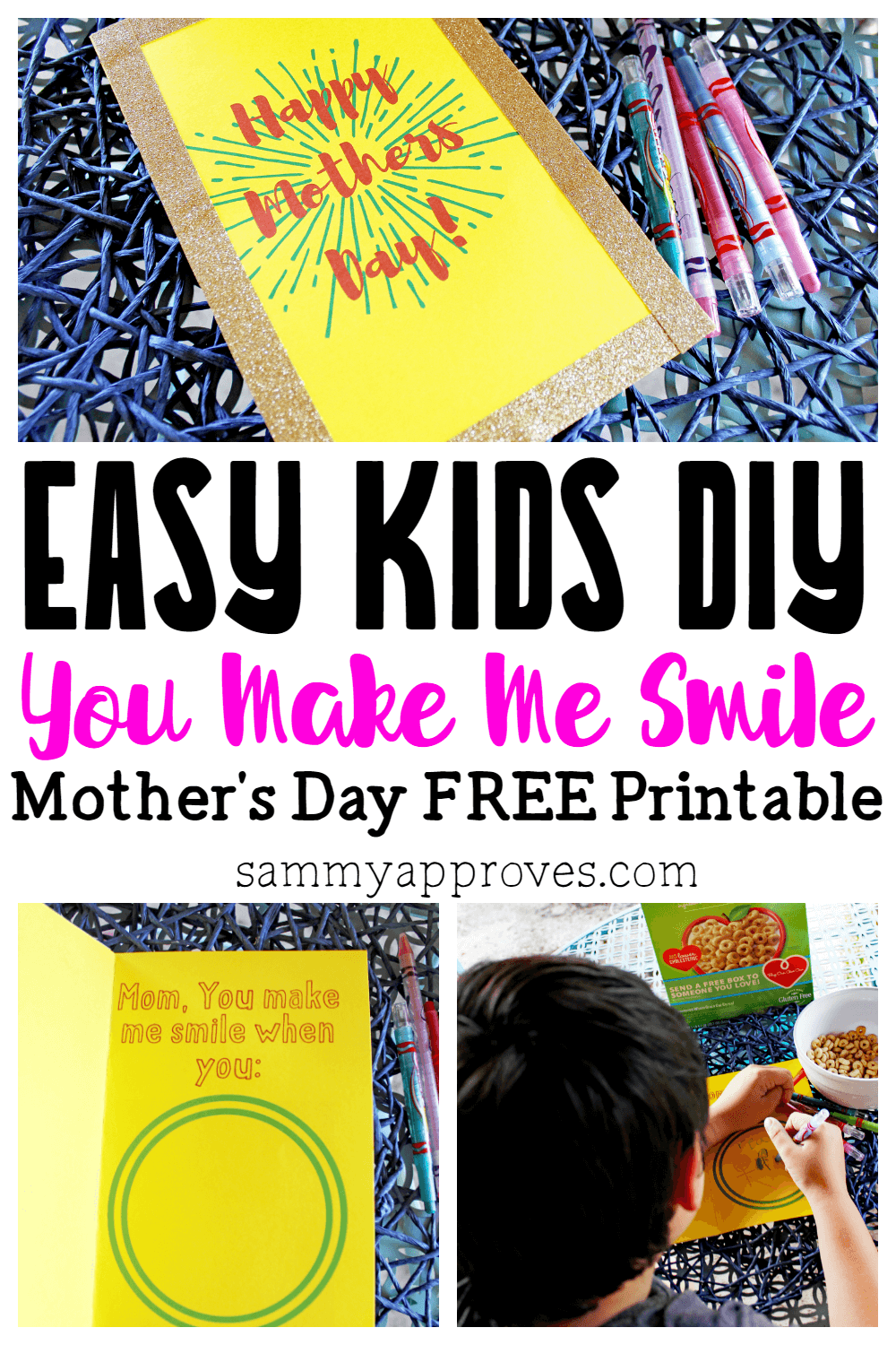 easy mother s day giving ideas for kids free diy mother s day card