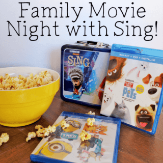 Family Movie Night With Sing- Get a FREE Sing Lunch Box
