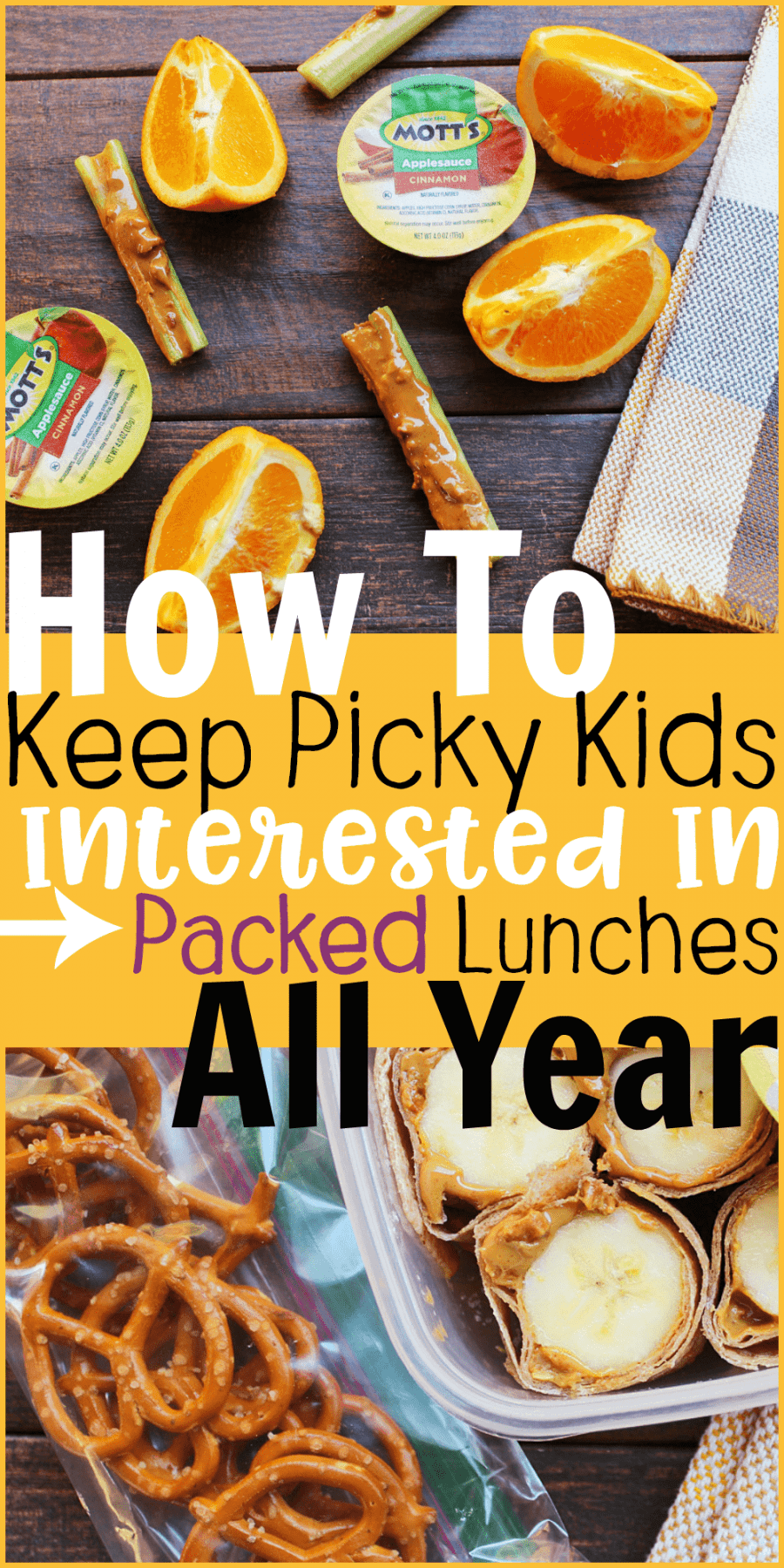 How to Keep Picky Eaters Interested in Packed Lunches All Year