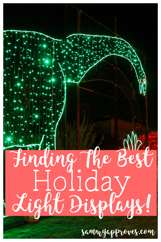 Finding the Best Holiday Light Displays | Pressure Cooker Apple Cider