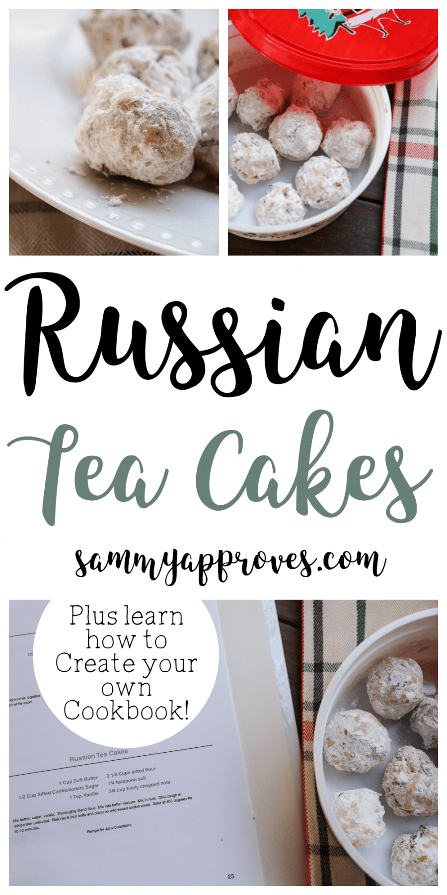 Russian Tea Cakes with CreateMyCookbook
