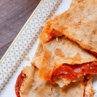 Meat Lovers Pizza Quesadillas | Great Game Day Appetizer