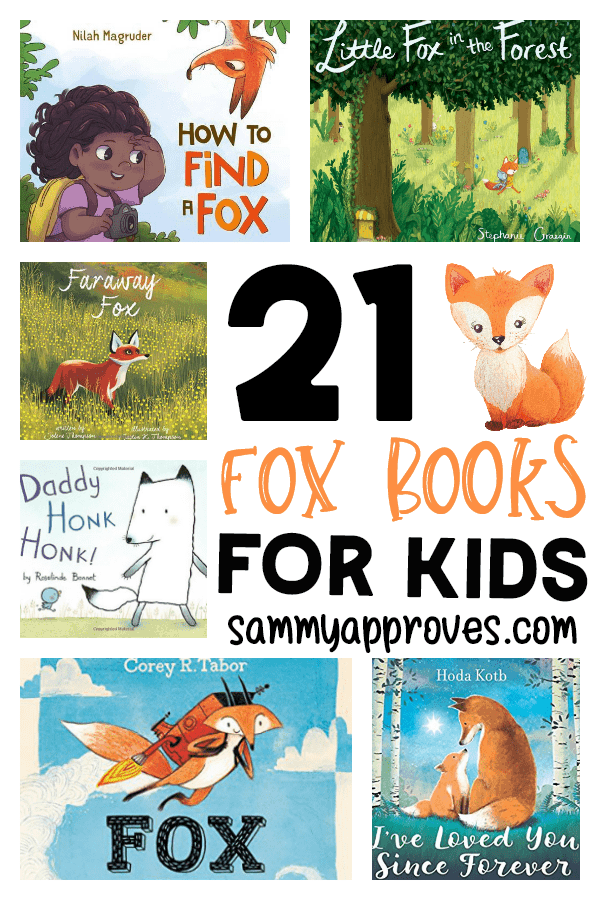 21 Fox Books for Kids | Free Printable Forest Animal Bookmarks!