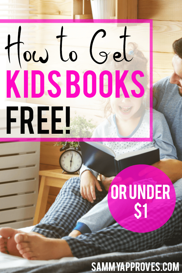 How to get kids books free!