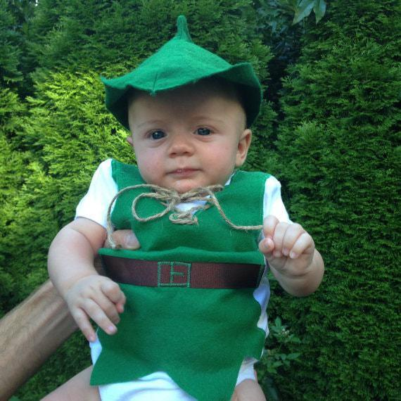 Peter Pan Baby Costume  sc 1 st  Sammy Approves & Cute Baby Disney Costume Ideas u2022