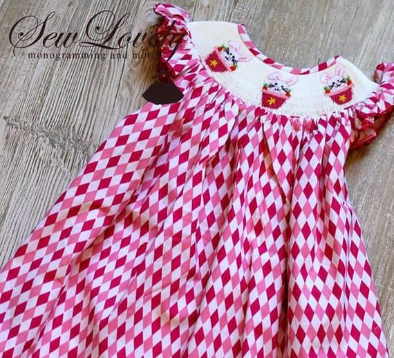 8222f9bc8c1 Girls Smocked Bishop Dress from Smocked A Lot