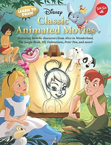 Best Disney Art Books for Kids | How to Draw Disney Characters