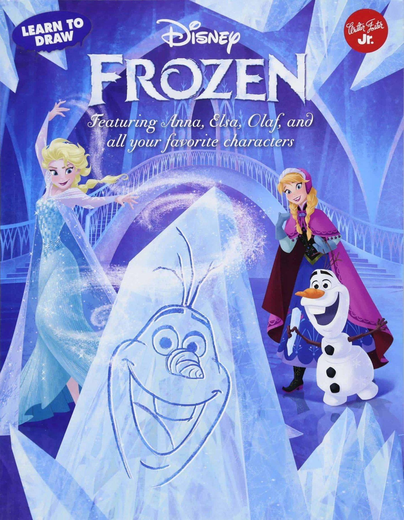 Best Disney Art Books For Kids How To Draw Disney Characters