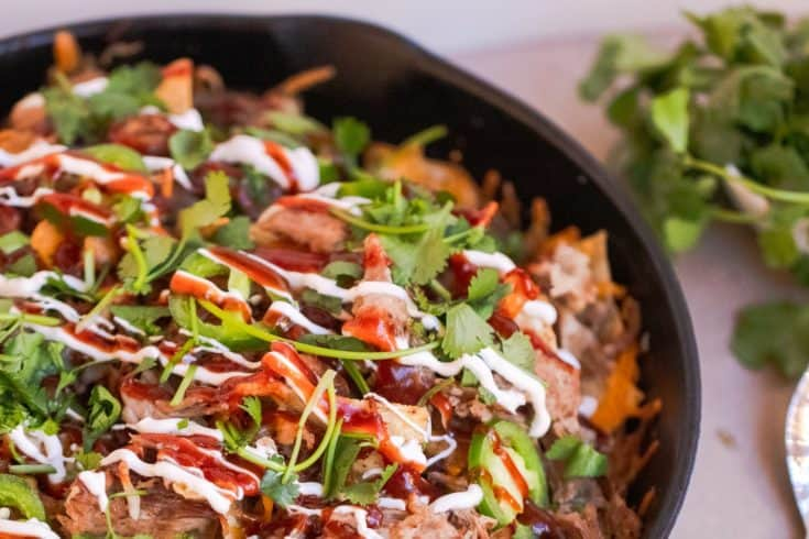 Cowboy Bbq Pulled Pork Nachos Recipe