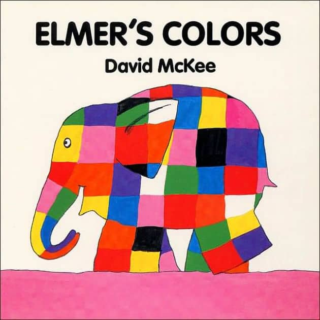Elmer's Colors Board Book | Board Book