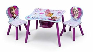 Kids Chair Set and Table, Disney Frozen