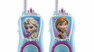 eKids Disney Frozen Anna & Elsa Character FRS Walkie Talkies