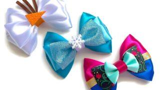 Elsa Anna Olaf Disney Frozen Inspired Character Hair bow