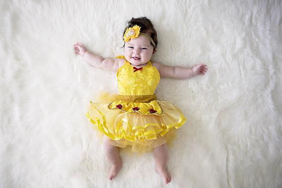 Belle baby costume