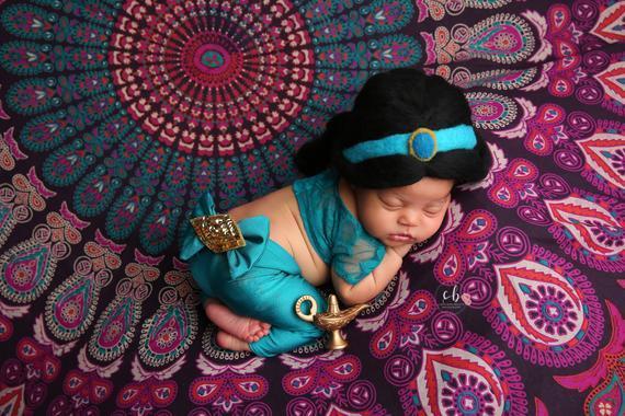 Jasmine Newborn Costume
