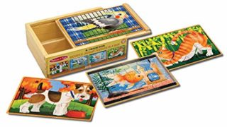 Melissa & Doug Pets Jigsaw Puzzles in a Box