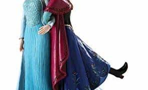 Jim Shore for Enesco Frozen Figurines by Jim Shore Anna and Elsa